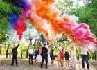 Цветной дым для свадьбы в Югорске